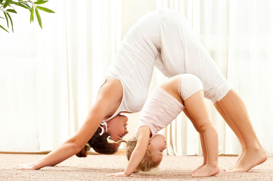 yoga mama hijo